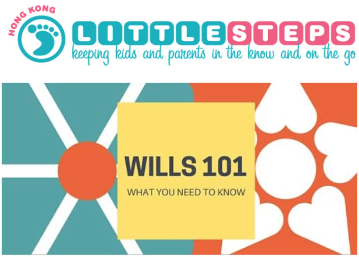 Little Steps Asia: Wills 101